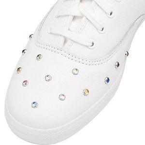 Keds Champion Starlight White Leather Stud Sneaker